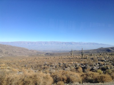 Bus to Cafayate