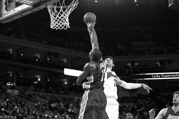 2009.11.28 Warriors vs. Lakers