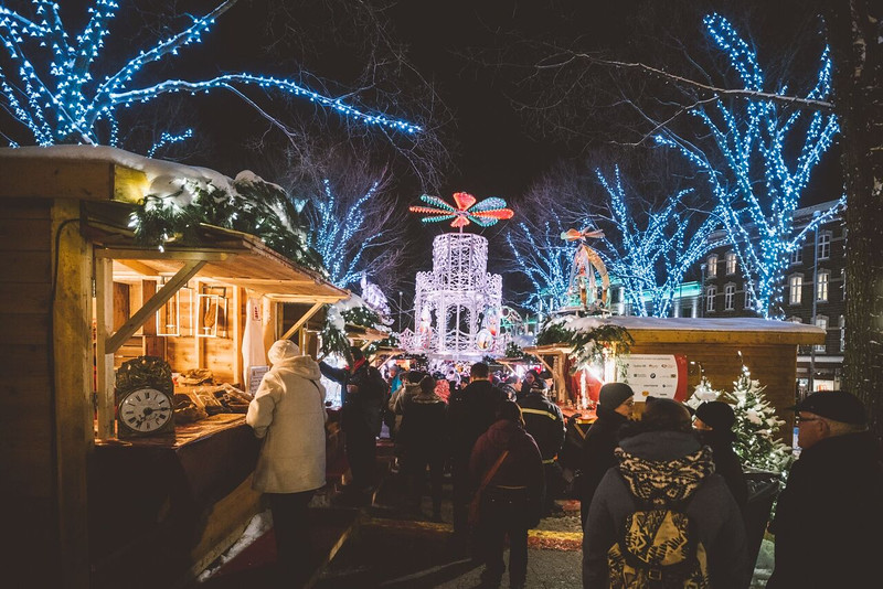 Yes, you will find a German Christmas Market in Quebec City.
