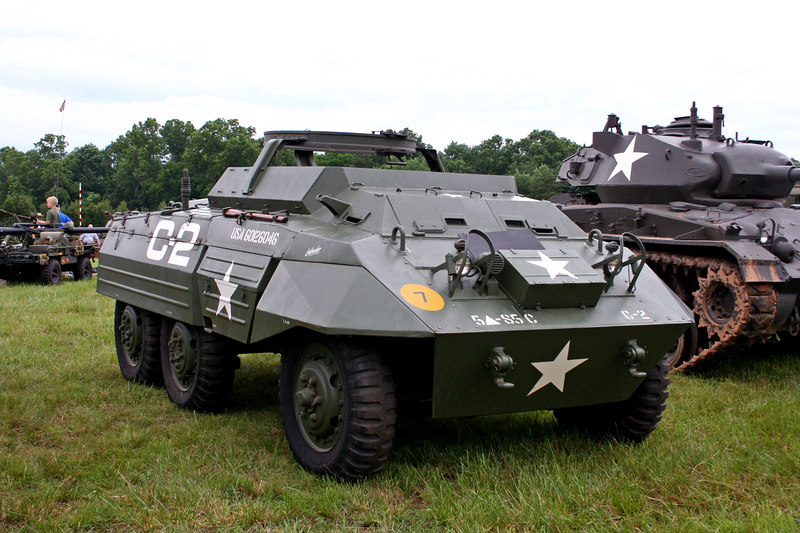 M20 Armored Scout Car