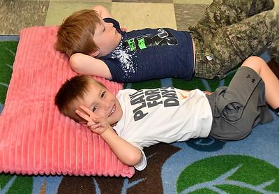 Just Relaxing Kindergarten Style photos by Gary Baker