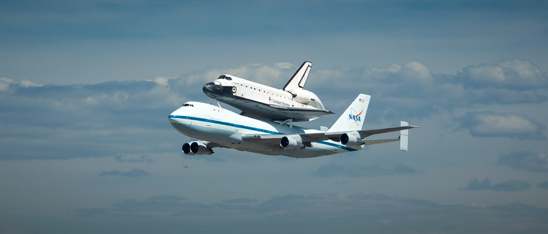 2012 09/21: Space Shuttle Endeavour's Final Flight