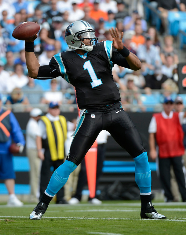 . Cam Newton, Auburn Selected first overall by the Panthers in 2011 After a tumultuous final season at Auburn, Newton burst onto the scene, passing for 4,051 yards and rushing for another 706 on the way to being named the AP Offensive Rookie of the Year. The Panthers fell shy of expectations Newton�s second season, finishing 7-9. GRADE: A. Rookie season may have paved the way for a mobile quarterback revolution in the NFL, and he kept it up his second year. (Photo: John Leyba, The Denver Post)