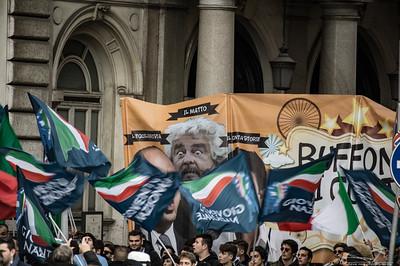 Fratelli d'Italia Demonstration 28 january 2017