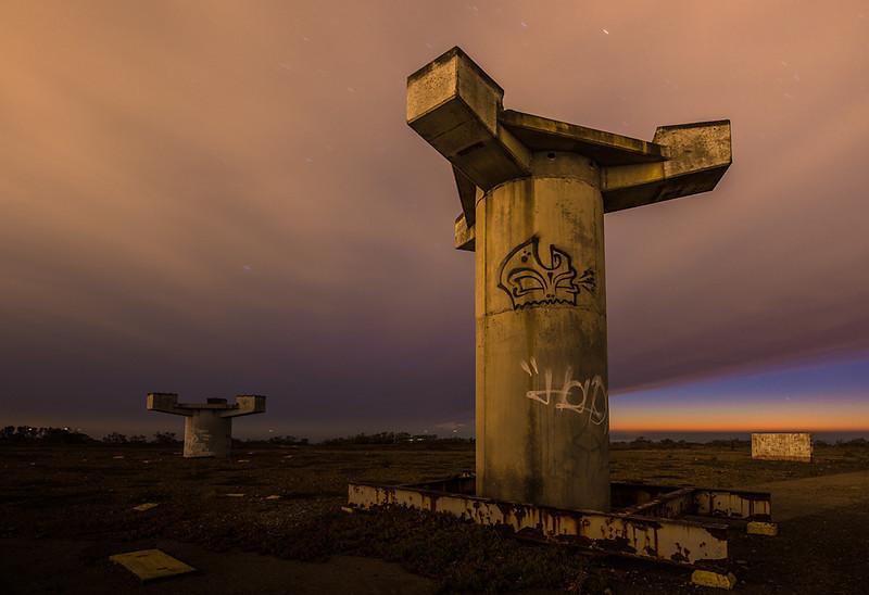 Radar Towers  Hill 88, Golden Gate National Recreation Area