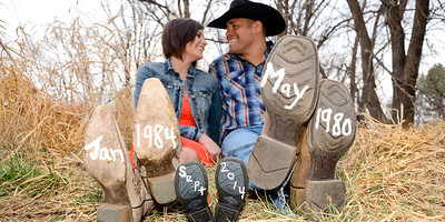 Susan and Javier New Baby Announcement