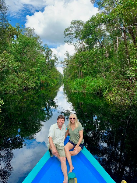 River Trip on a  Klotok through Orangutan Country