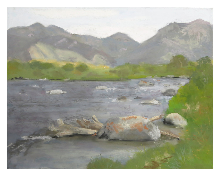 "Madison River Rocks 11"" x 14"""