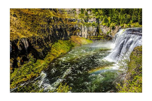 Upper Mesa Falls, Idaho