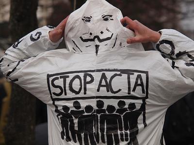 STOP ACTA demo, Copenhagen
