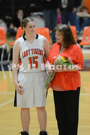 Basketball SR Night 2014