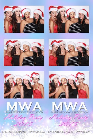 Maui Wedding Association Christmas Party 2015