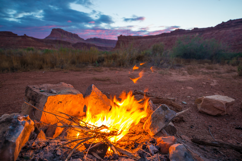 Grand Staircase - campfire on the Grand Staircase - KCOT.jpg