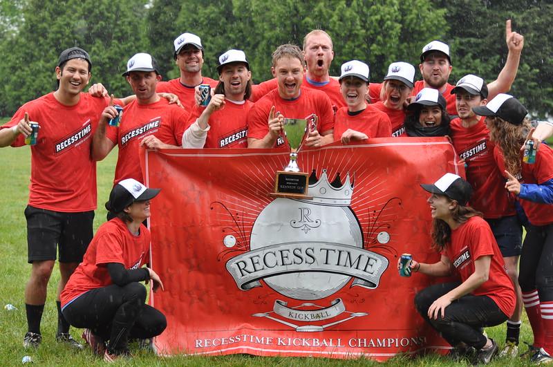 Recesstime Portland Kickball Dodgeball Bowling Ping Pong Mushball - 475
