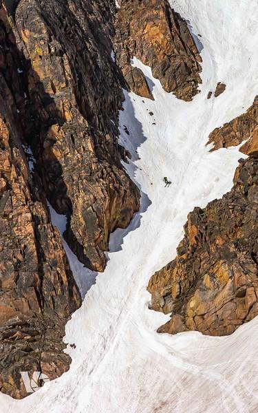 Skiing End of June - Beartooth Pass - Social Media Ready