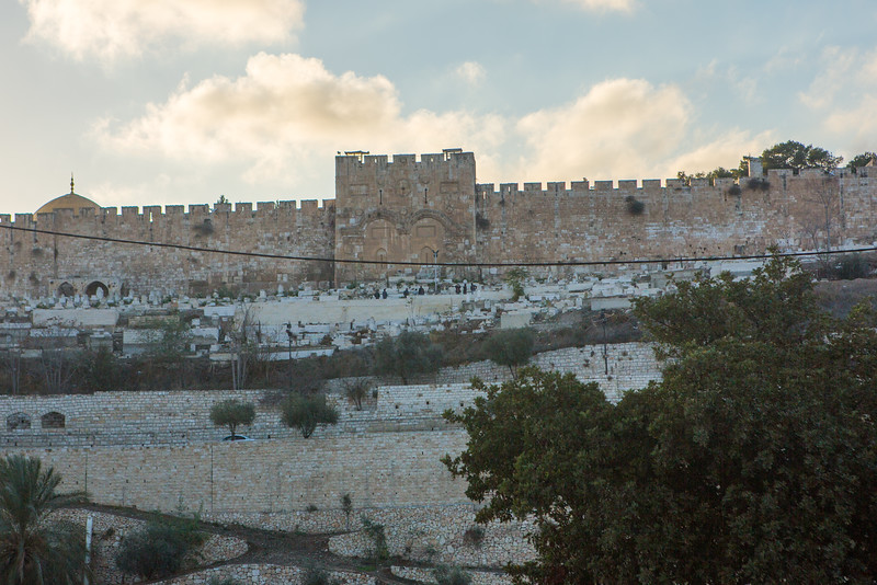 East Gate into Jerusalem