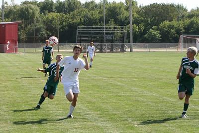 Boys Varsity Soccer - 2010-2011 - 8/31/2010 West Michigan Christian