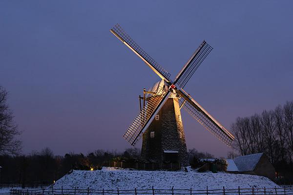 Winteravond in Bokrijk (28/12/2005)