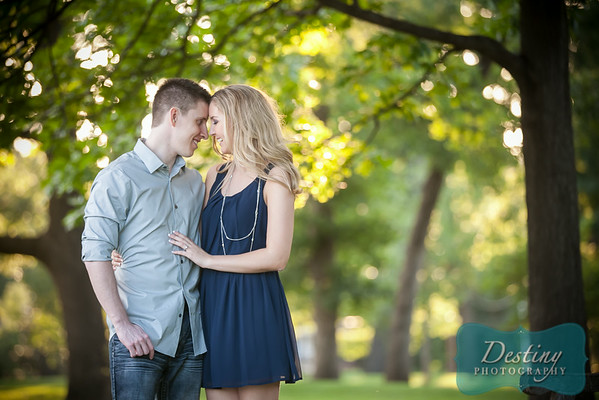 Lexi and Curt's Engagement Pix