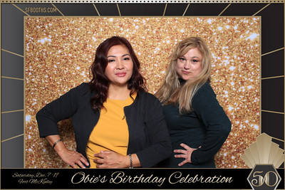 Obie's 50th Birthday Celebration - December 7, 2019
