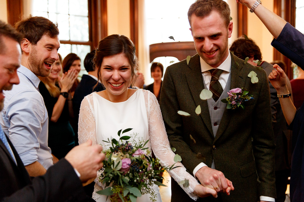 Winterse bruiloft Eindhoven
