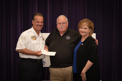 Battle of the Badges Check Presentation