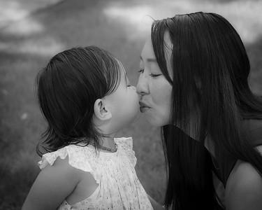 Zuri & Mom