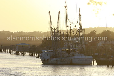 Shrimp Boats at Holden Beach