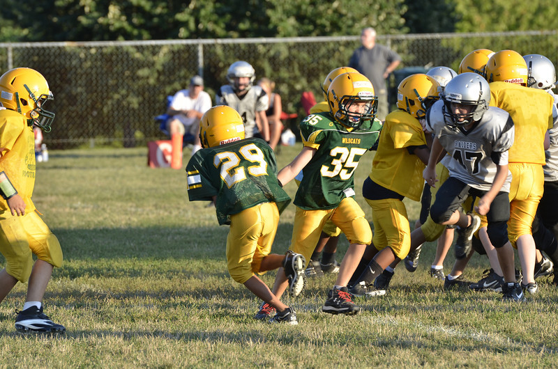 Wildcats vs Raiders Scrimmage 197.JPG