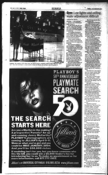 Daily Trojan, Vol. 148, No. 47, April 03, 2003