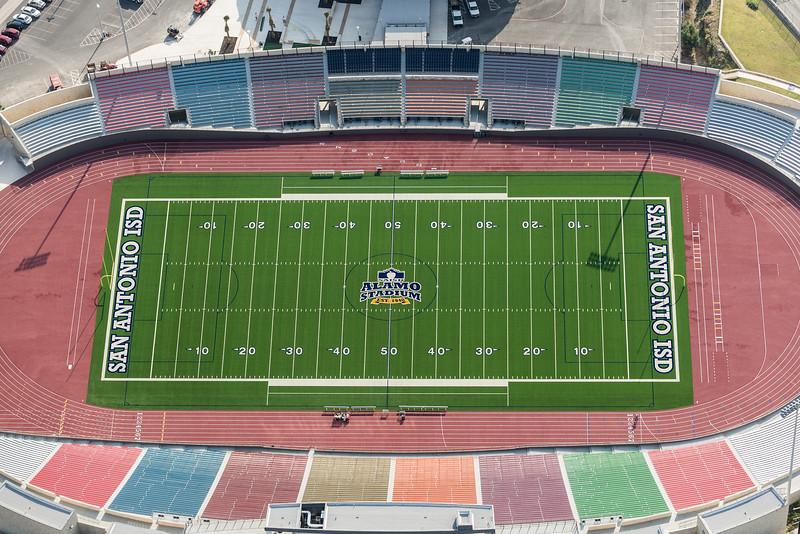 09/23/2014 093738 -- San Antonio, TX -- © Copyright 2014 Mark C. Greenberg  Alamo Stadium