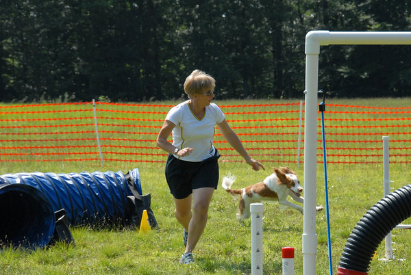 2009-08-01 Ryan abd Barbara Rushman CPE Agility, Lewis Morris Park