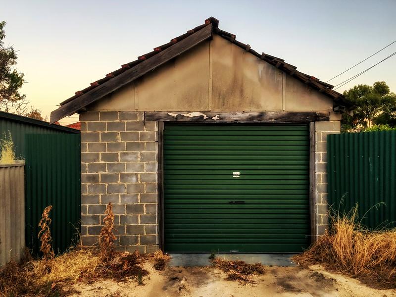 Garage In Emerald Green