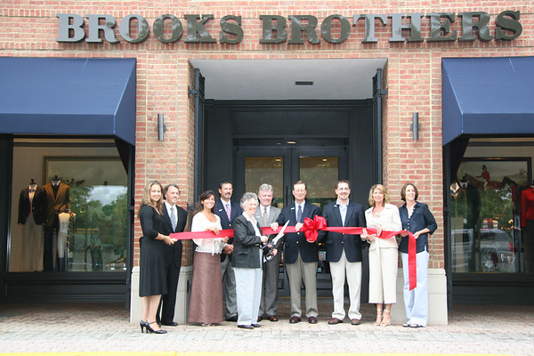 Brooks Brothers and Anthropologie opening