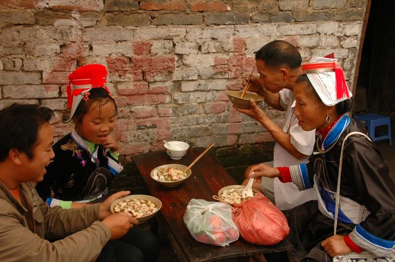 Indigenous Family Lunch - Guizhou, China