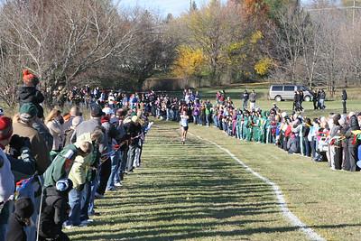 Boy's Finish - 2012 MHSAA XC Regional 7-1 Waterford