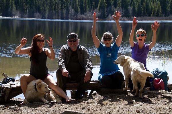 2017-05-21 Manastash Lake Trail, Central Washington