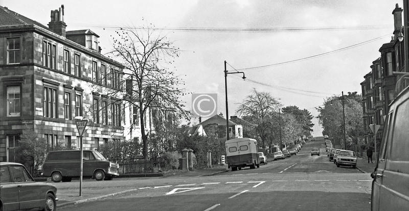 Albert Rd at Langside Rd. 