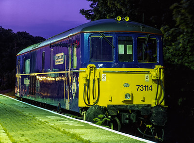 The Railway at Night