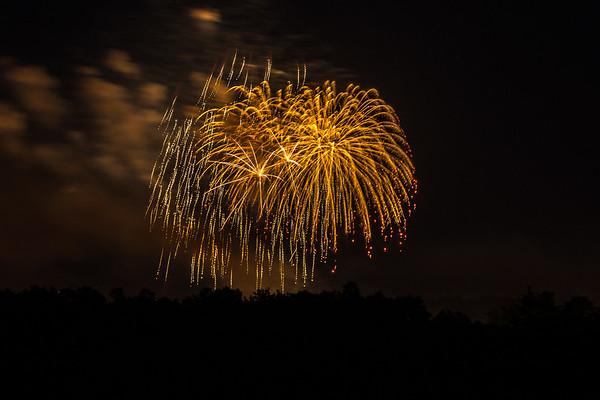 Burlington Fireworks 2015