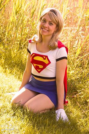 Supergirl Smiles