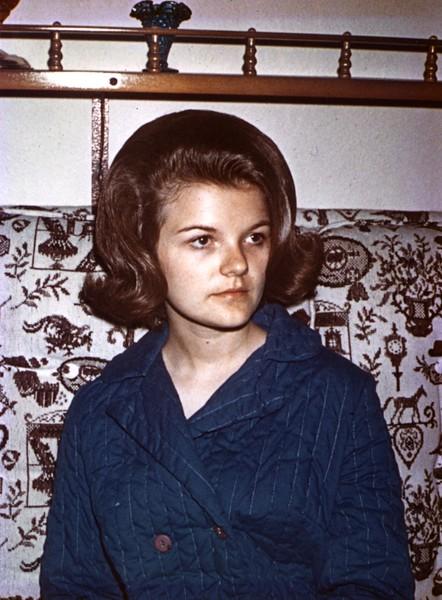 Linda Edberg, August, 1968