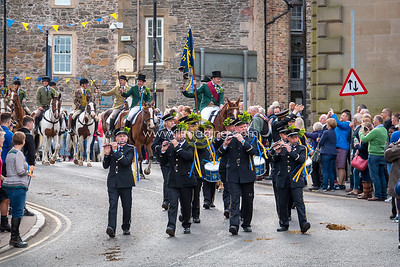 Common Riding Friday, 2018 - Procession