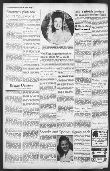 The Trojan, Vol. 35, No. 121, May 22, 1944