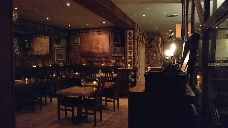 Dining environment at L'Original