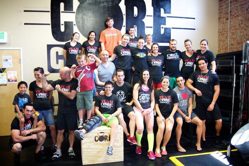 13.5 Team Core Cross Fit - 2013