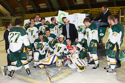 UVM vs. Endicott, Senior Night