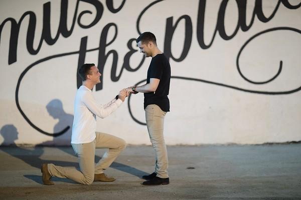 Joshua + Alex Proposal 02.18.17