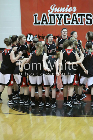 Mena vs Booneville - 9th Grade Girls BB 2013