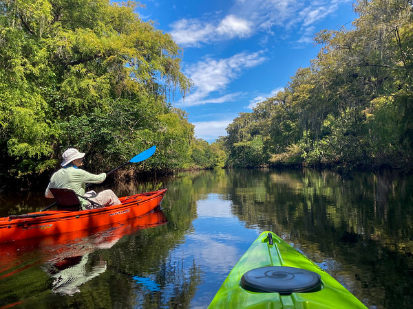 Loxahatchee River kayaking August 2020